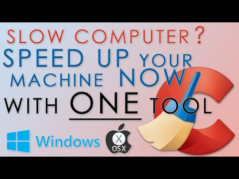 How To Make Your Windows/Mac(OS X) Computer Run Faster! BOOST NOW!!!