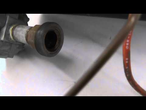 00992 Dayton Natural Gas Burner Post Cleaning