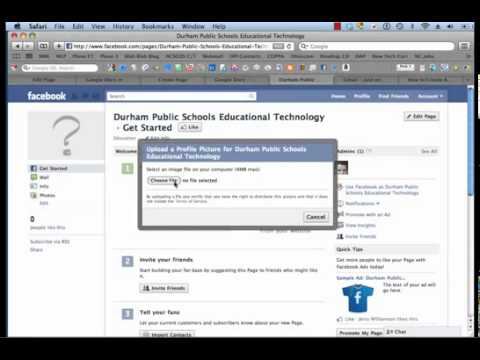 Creating a School Facebook Page !!!