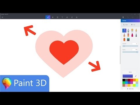 How Resize in Images in Microsoft Paint 3D