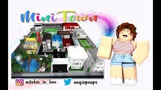 Building A Mini Town Roblox Welcome To Bloxburg 1 - Roblox Bloxburg Mini Town Videos 9tubetv