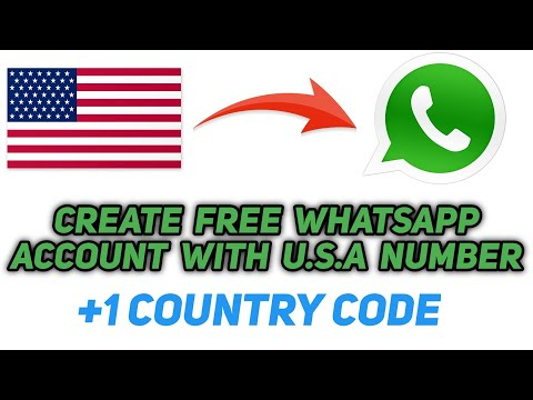 How to Use US Number in Whatsapp 2018 | Get Free US Number for Whatsapp | Textnow free us number
