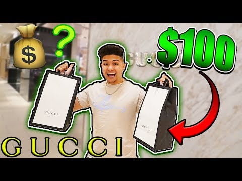 BUYING THE CHEAPEST ITEM IN GUCCI!!
