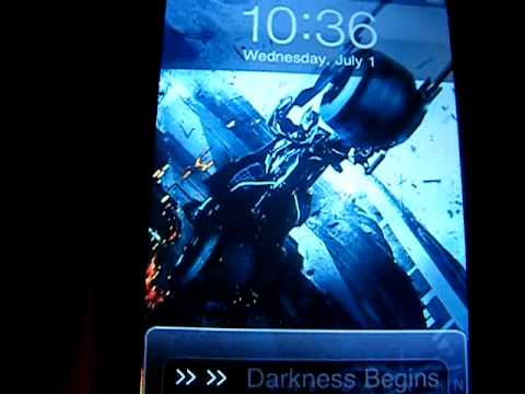 Video Background on Iphone & Ipod touch EASY