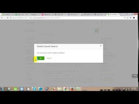 how to change or edit my job feed in upwork 2018
