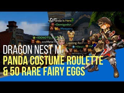Panda Costume and 50 Rare Fairy Eggs