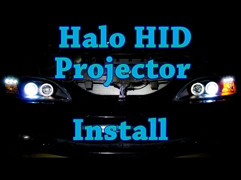 D.I.Y. - How to Install Halo Projector Headlights with 6000K HIDs