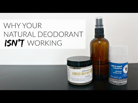 WHY YOUR NATURAL DEODORANT ISN'T WORKING