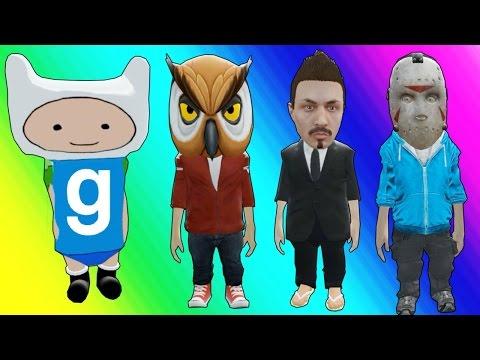 Gmod Hide and Seek - Little Character Edition! (Garry's Mod Funny Moments)