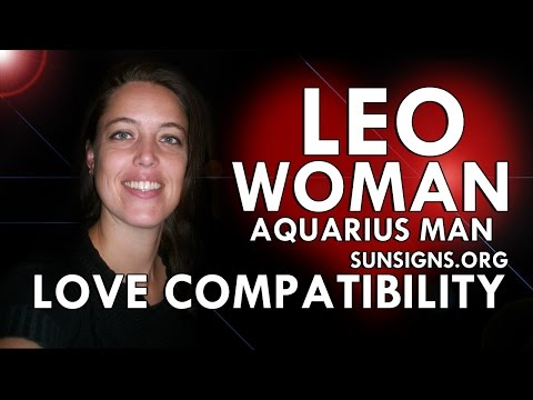 Leo Woman Aquarius Man – A Charismatic But Difficult Relationship