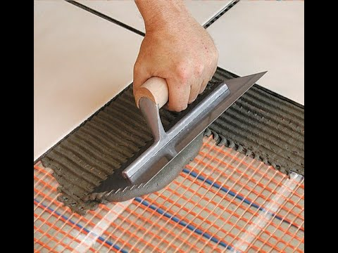 How to Install a SunTouch Electric Floor Heating Mat