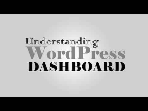 Understanding WordPress 3.5 Dashboard layout & sections