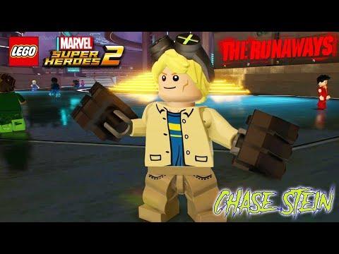LEGO Marvel Super Heroes 2 - Chase Stein Free Roam Gameplay (The Runaways DLC)