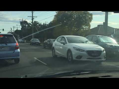 License Plate Recognition Test Run (catches an unregistered vehicle)