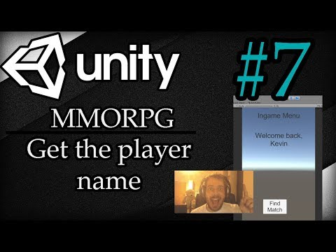 Unity 3D Tutorial #7: MMORPG | Get the player name