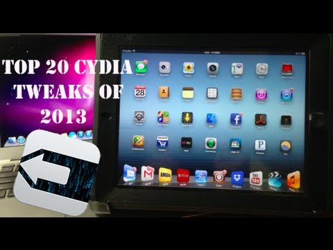 Top 20 Best iPad Cydia Tweaks - 2013