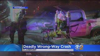 Deadly Wrong-Way Crash Devastates San Bernardino Family