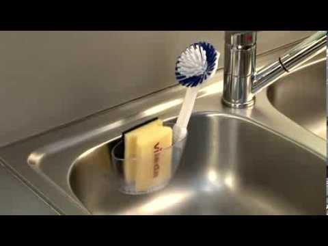 Sponge holder TESCOMA CLEAN KIT, into sink