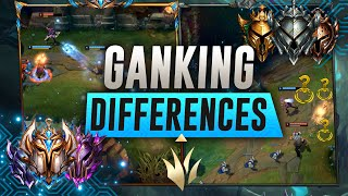 GANKING DIFFERENCES: How To Gank Like A Pro!   Season 11 Jungle Guide League of Legends