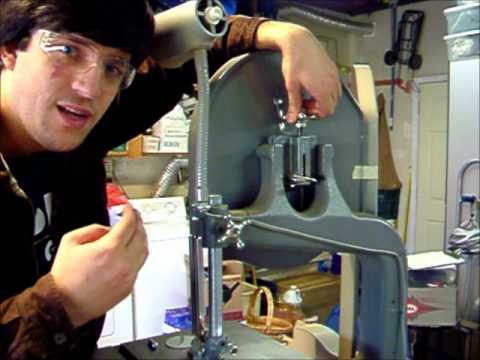Tutorial on Changing Band Saw Blades