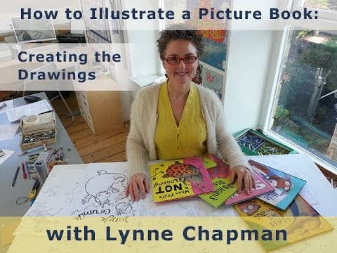 How to Illustrate a Picture Book: Creating the Drawings