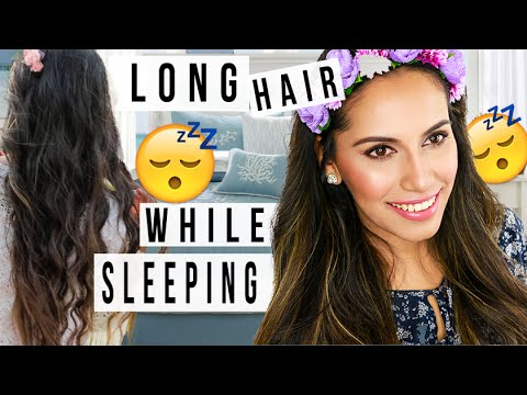 Grow Long Hair WHILE SLEEPING! DIY Hair Hacks! Himani Wright