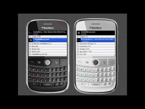 How To Add a contact on BlackBerry Messenger