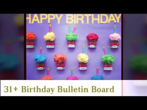 30+ Stunning Birthday Bulletin Board
