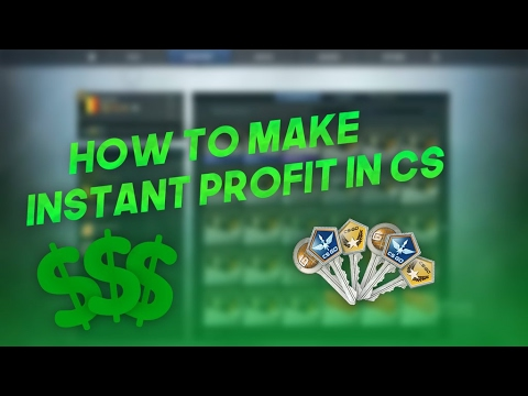 INSTANT TRADE PROFIT IN CS:GO WITH BOTS?!  (2017)