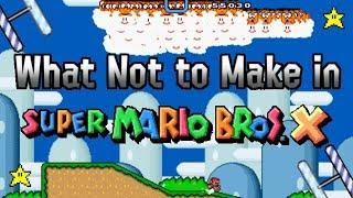 Super Mario Bros  X (SMBX) playthrough - Super Mario Bros 1
