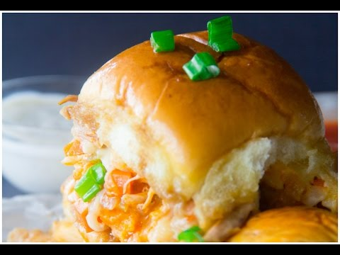 Party Buffalo Chicken Sliders | Say Grace