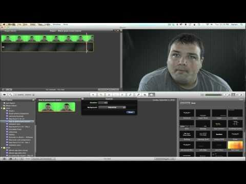 How To Edit Green Screen Video Footage in iMovie
