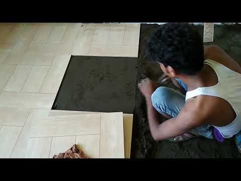 How tiles fits in India in floor