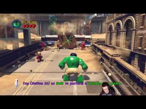 LEGO® Marvel Super Heroes [MAC OSX Games] - Let's Play / Livestream Rec. - Part 1