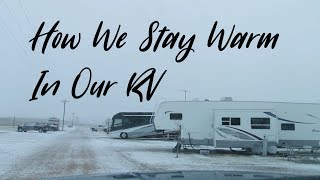 How To Stay Warm In Your RV and Protect It In The Cold!