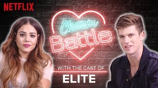 Download Spanish vs. English Flirting with the Cast of Elite | Charm Battle | Netflix Video