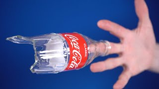 Breaking a bottle with one finger - Is it possible? [Full version of the experiment]