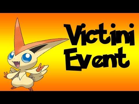 Pokémon Black and White Victini event Pokémon The Movie - Black & White