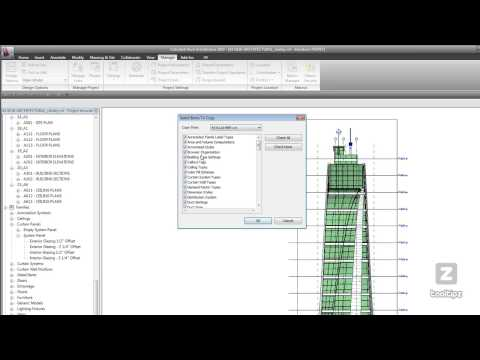 42 Revit Transfer Project Standards
