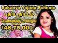 Sukanya yojana Scheme | சுகன்யா யோஜனா திட்டம் 21 வயதில் ₹46,75,000 பெண்களுக்கு |Suganya | Suresh Abs