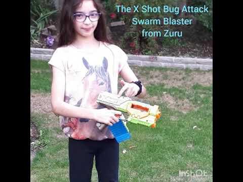 X-SHOT Bug Attack Swarm Blaster from Zuru