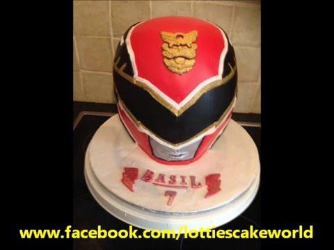 Power Rangers Helmet Cake by Lotties Cake World