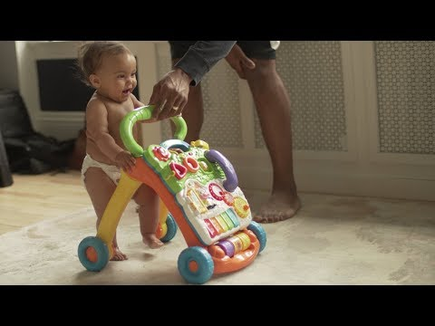 Teaching baby how to walk. | asCEDbyme