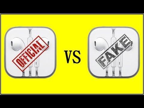 Earpods: REAL vs FAKE