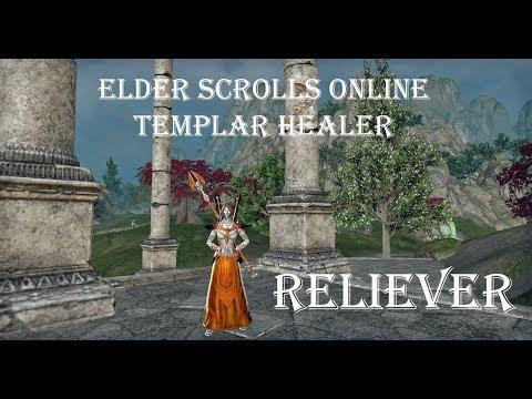 PvE Templar Healer Build 'Reliever' - Summerset - ESO