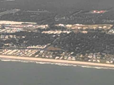 Taking off from Myrtle Beach Airport