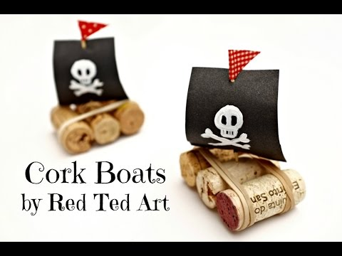 Cork Boats How To