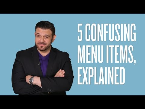 Adam Richman: 5 Food Terms To Add To Your Vocabulary