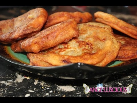 How to Make 'Non Greasy' Banana Fritters