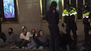 Cops Arrest Over 200 Before First Night of Curfew Take Place in NYC | NBC New York
